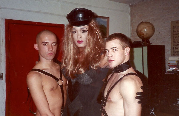 Every Night in Drag, a historical and artistic photo essay by Linda Simpson.